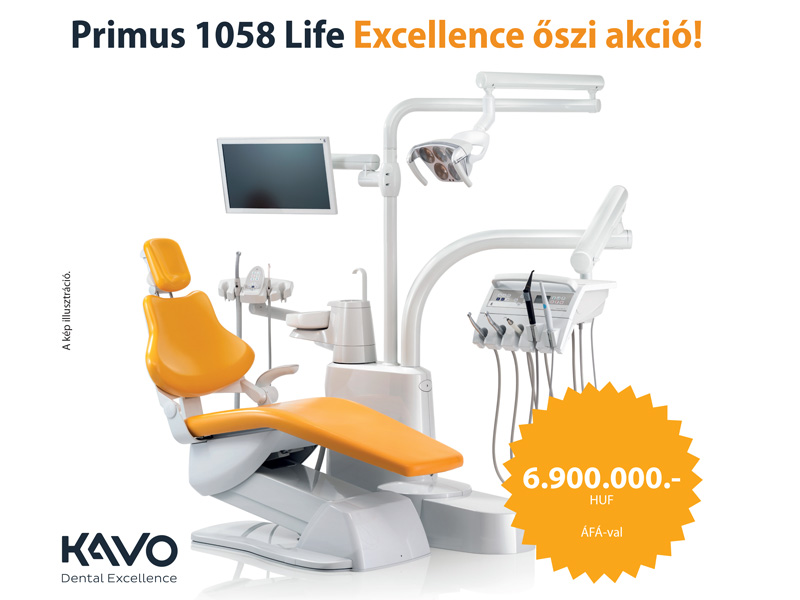 KaVo Primus 1058 Life Excellence akció